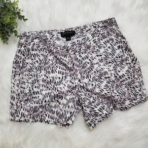 Banana Republic Animal Print shorts